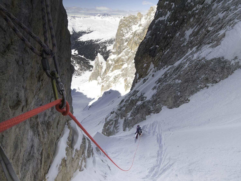 ski rando inédit Dolomites