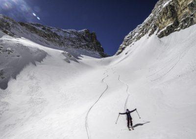 La Plus Belle journée de ski de ma vie ? 1600m de dénivelé +, hyper varié, technique, personne. Le rêve ! Dolomites, Italie