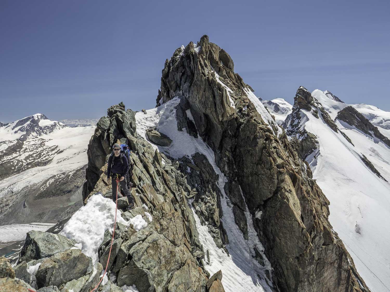 Lenzspitze Nadelhorn en alpinisme