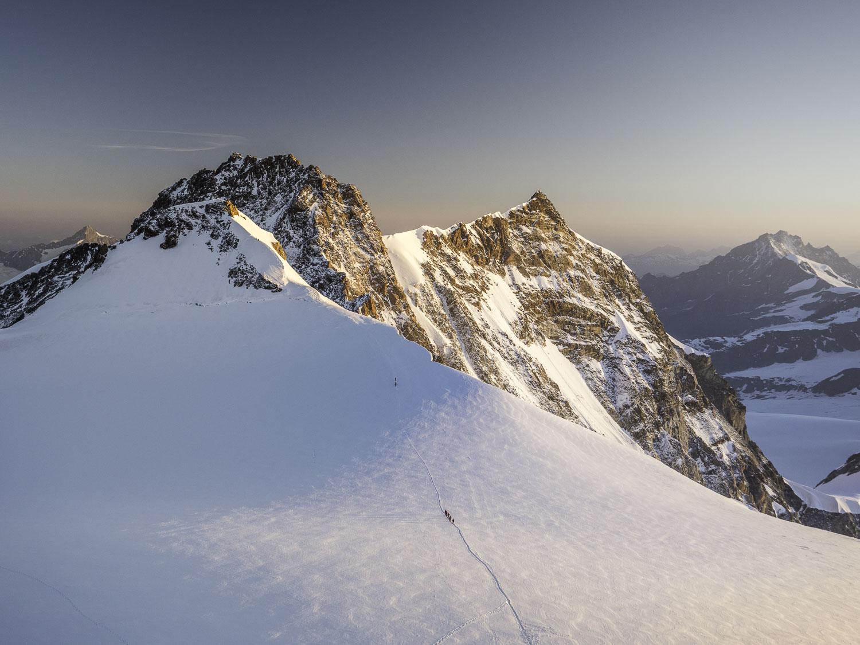 Cresta Signal Dufourspitze en alpinisme