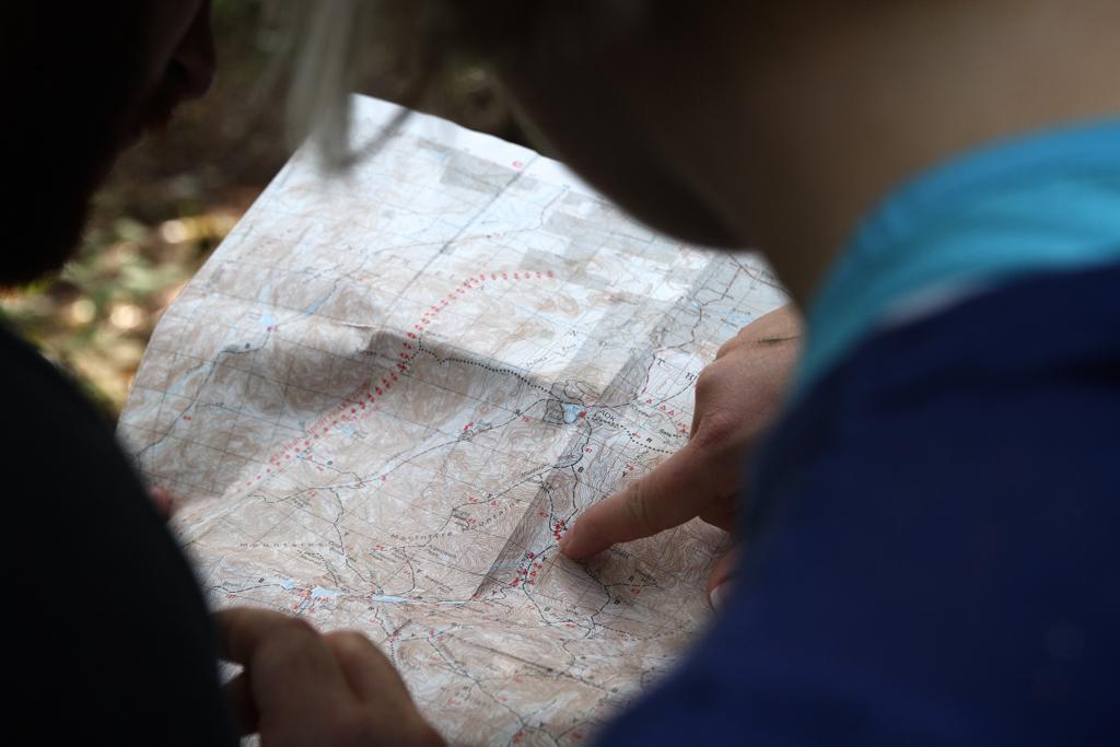 La cartographie, ou la science qui tourne autour de la lecture d'une carte, avec ou sans GPS
