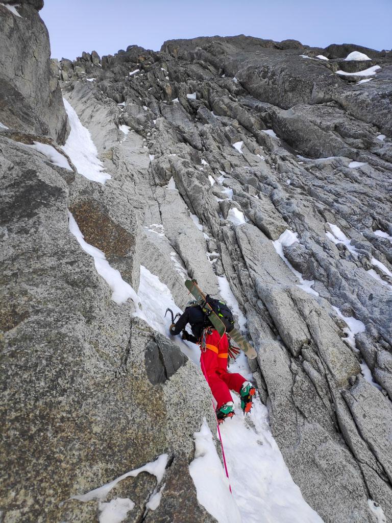 Aiguille du Midi – Goulotte Carli Chassagne