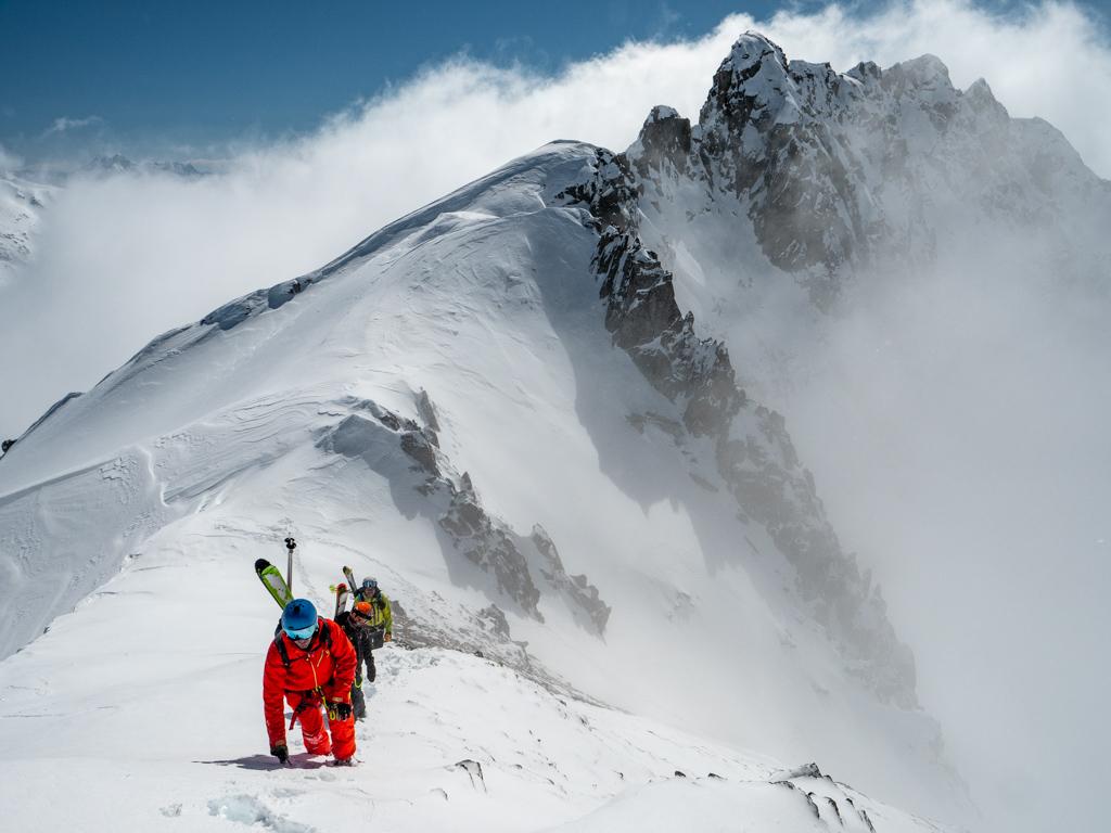 Ambiance pour rejoindre notre sommet.